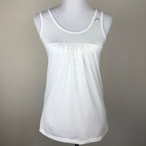 Head Tank Top Tennis Running Gym White Small